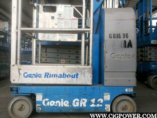 T04GS10- Genie GR12 Mast Lift